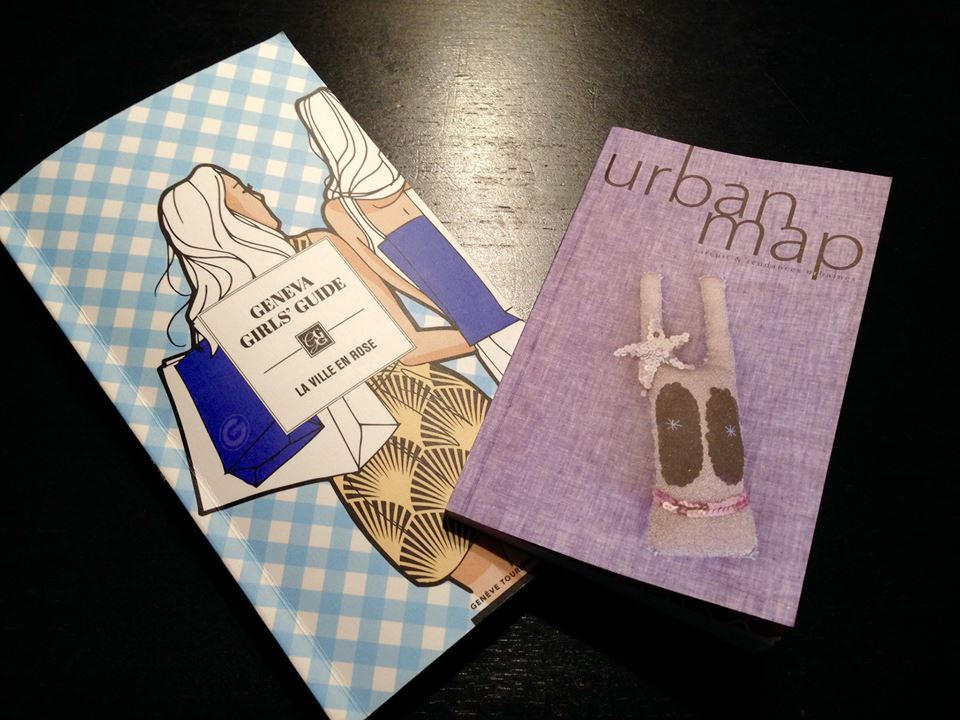 Geneva girls' guide vs Urban Map