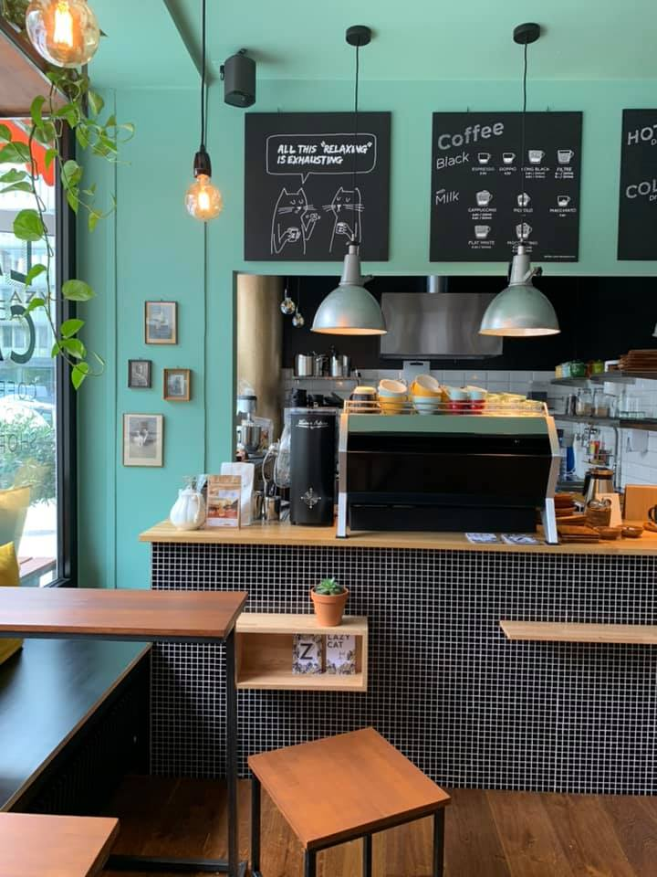 Lazy cat, le nouveau coffee shop qui prend le temps…