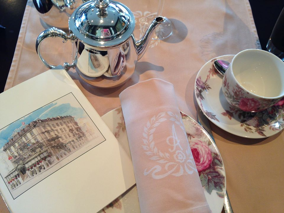 Afternoon Tea à l'Hôtel d'Angleterre