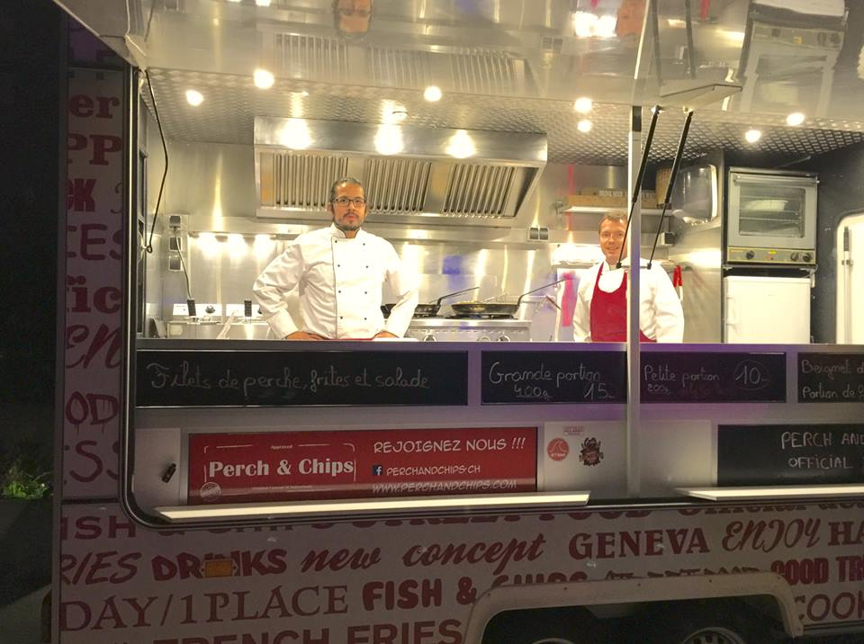 Perch chips foodtruck what 39 s the wave for Wave fish and chips